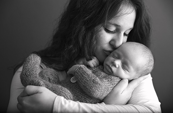 New Mom Snuggles